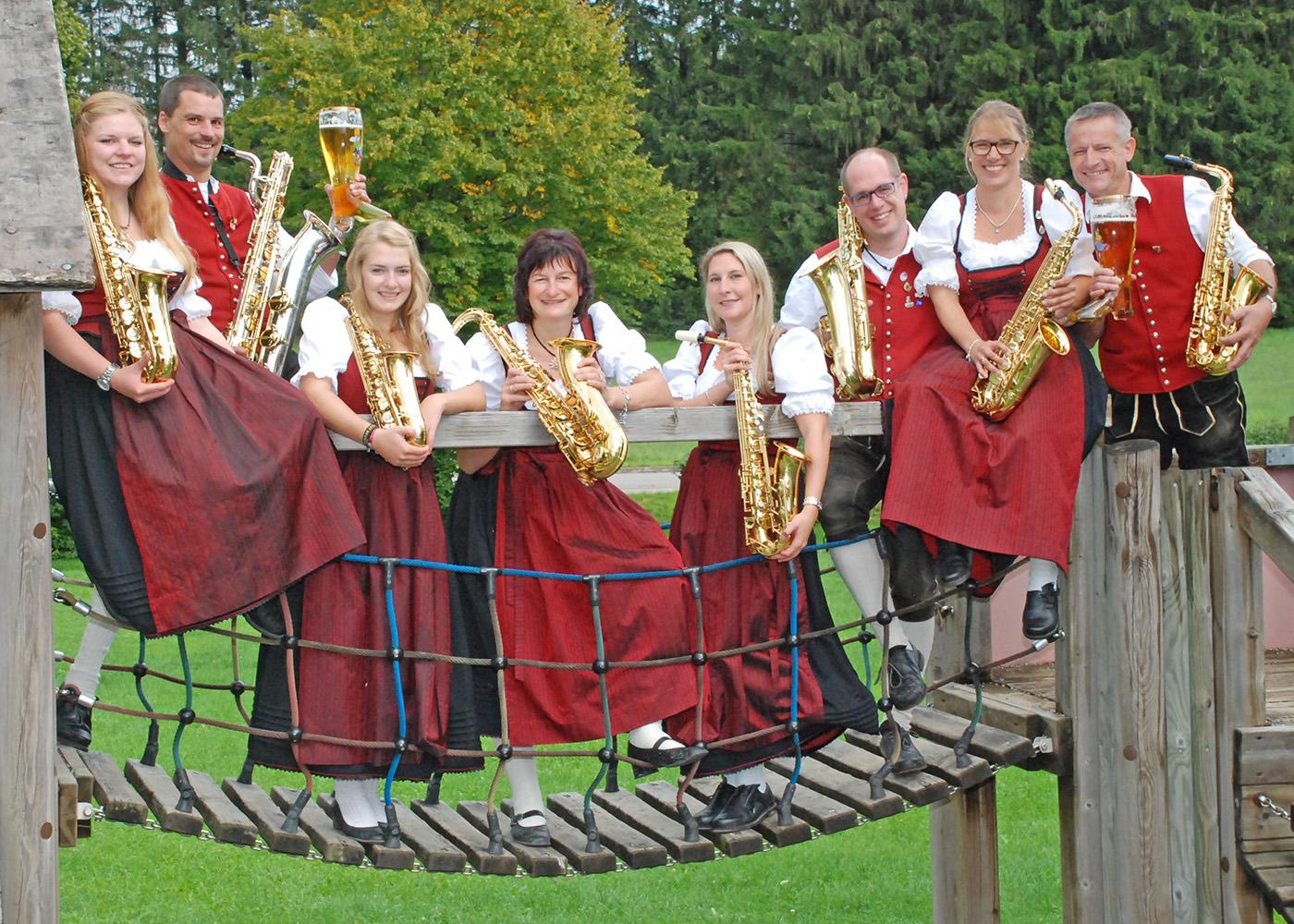Musiker Saxophon 1
