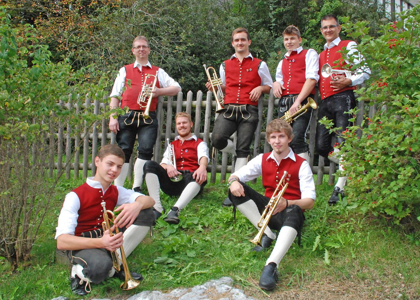Musiker Trompete 1