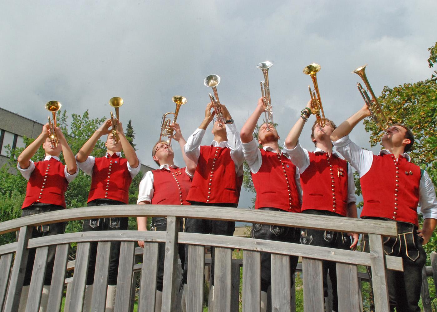 Musiker Trompete 4