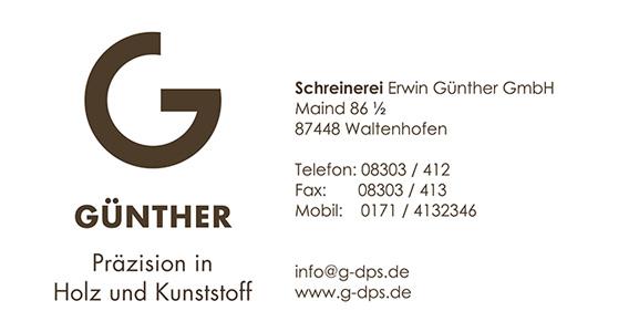 Sponsor_Schreinerei_Günther